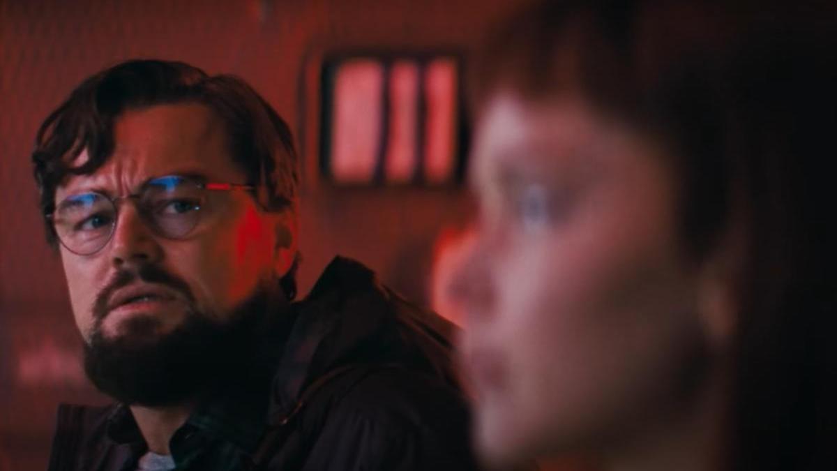 Leonardo DiCaprio en 'Don't look Up', una película de Netflix.