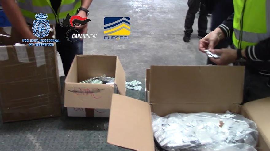 Golpe en Málaga contra el tráfico de sustancias prescritas para la disfunción eréctil