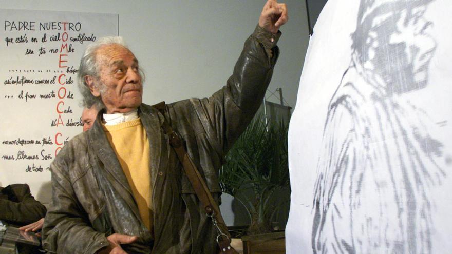 Google homenajea con un doodle al poeta Nicanor Parra