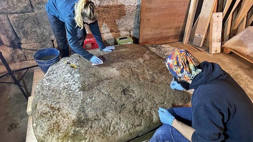 Comença la restauració de dos megàlits més de «Gegants Immortals»