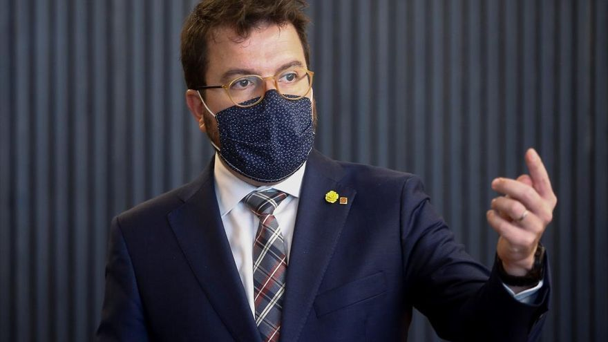Aragonès urgeix l'Estat a sortir del nou banc per evitar interferències