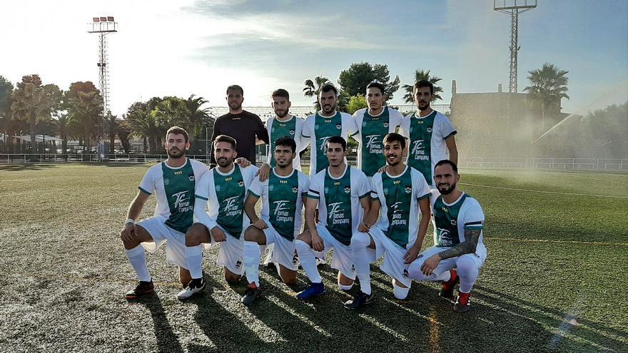 Una de las alineaciones iniciales del CD Cuenca de esta temporada.    LEVANTE-EMV