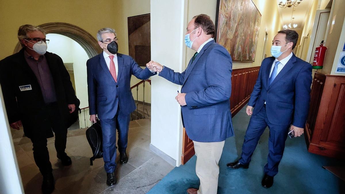 Pleno del Parlamento de Canarias (9/3/21)