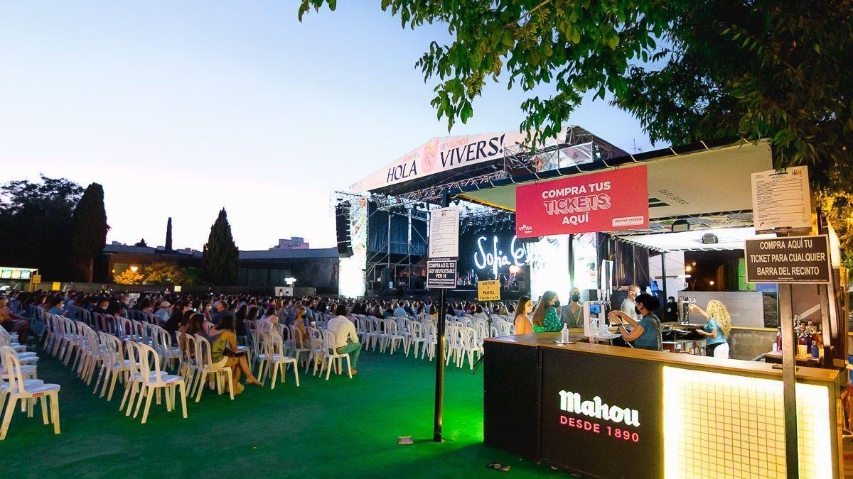 Imagen de archivo de un concierto en Concerts de Vivers.