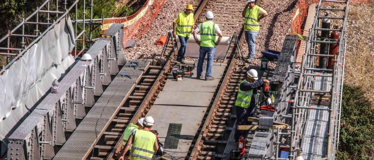 La última inversión realizada en 2017 permitió garantizar la circulación de los trenes en la línea tras años de abandono.