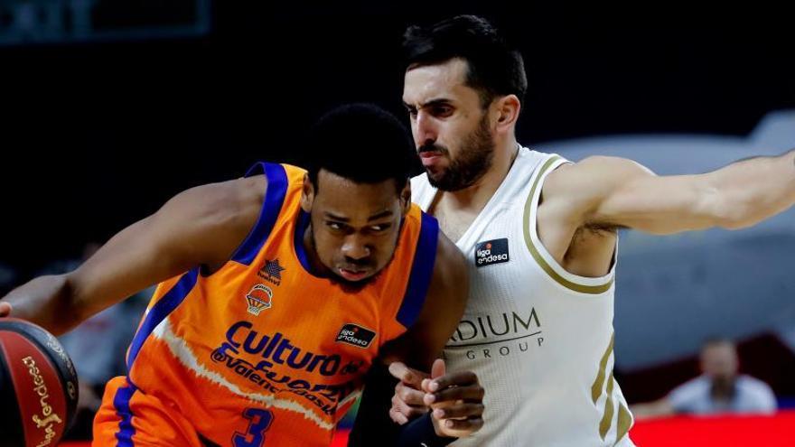 Rudy levanta al Real Madrid ante el Valencia Basket