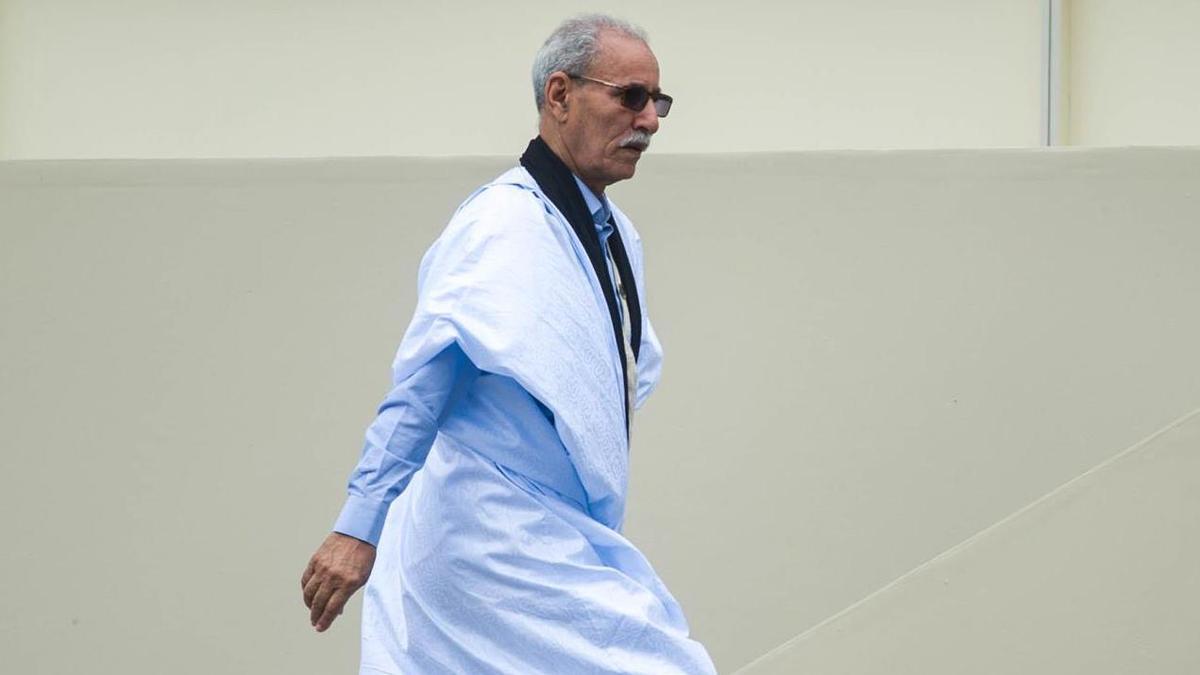 El líder del Frente Polisario, Brahim Gali, en una imagen de archivo