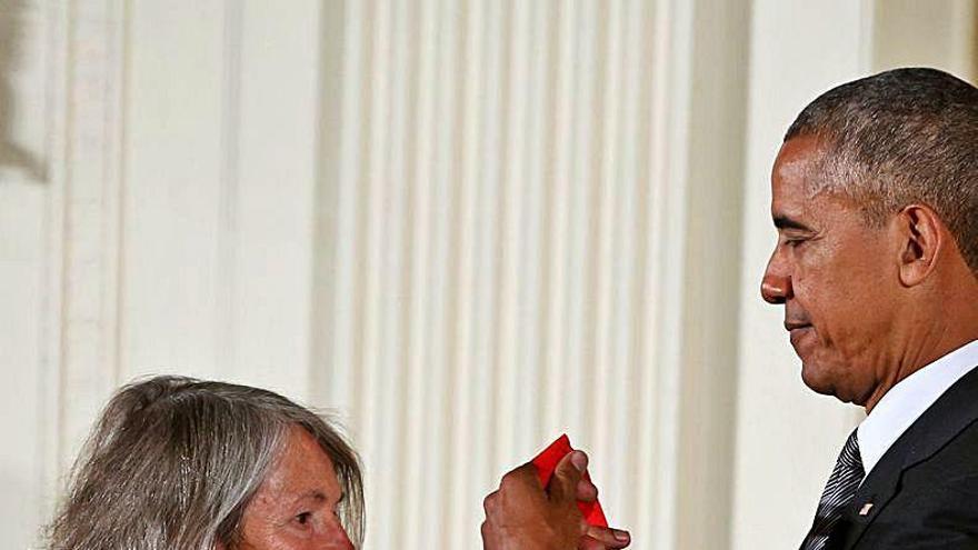 La poeta Louise Glück, Premi Nobel de Literatura