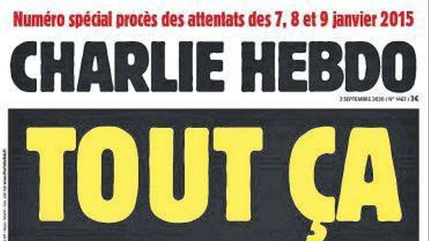 'Charlie Hebdo' vuelve a sacar las caricaturas de Mahoma al iniciarse el juicio por el atentado