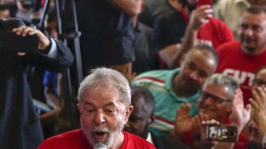 La justicia hace peligrar el camino de Lula a la presidencia al confirmar su condena