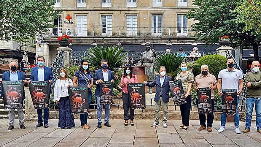El Concello de O Carballiño presenta el cartel de la 59ª Festa do Pulpo