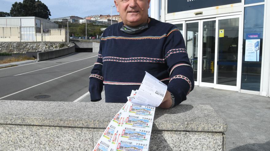 El cupón de la ONCE deja 200.000 euros en Os Rosales