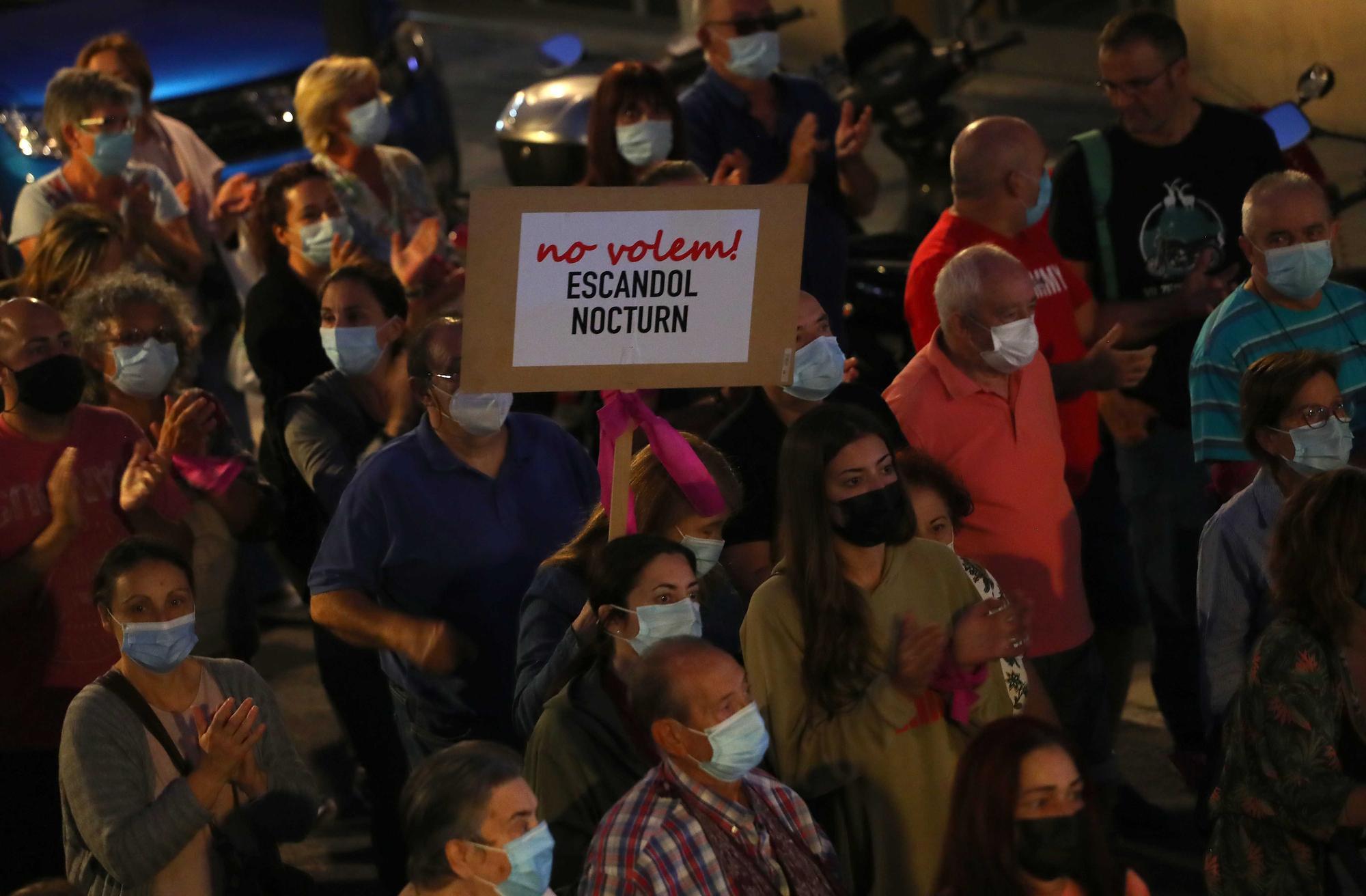 Manifestación contra la droga en la Malva-rosa