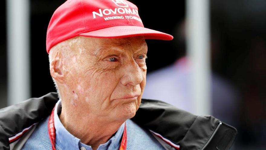 Conmoción en la F1 por la muerte de Niki Lauda