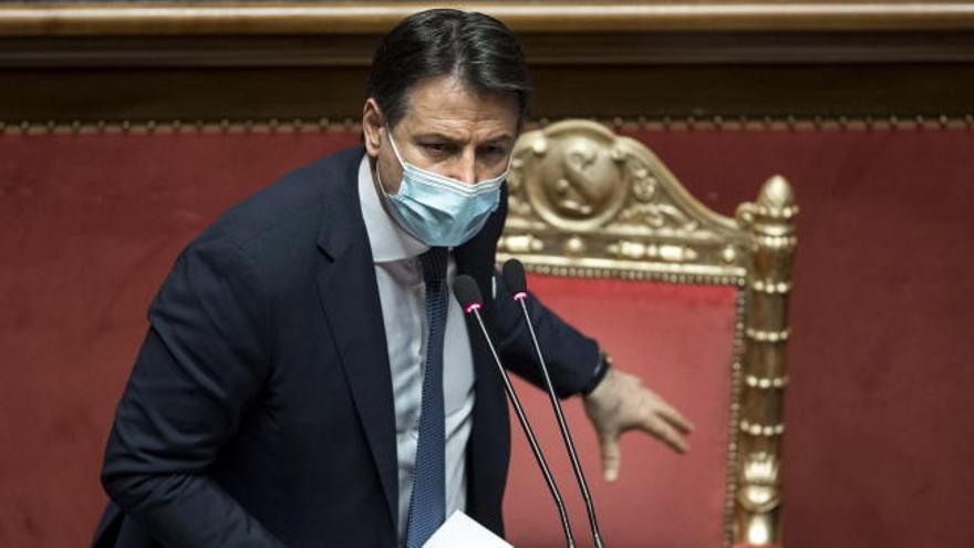 Conte recibe el apoyo de una mayoría simple en el Senado