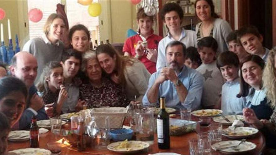 Muere de cáncer el padre de una de las familias más numerosas de España
