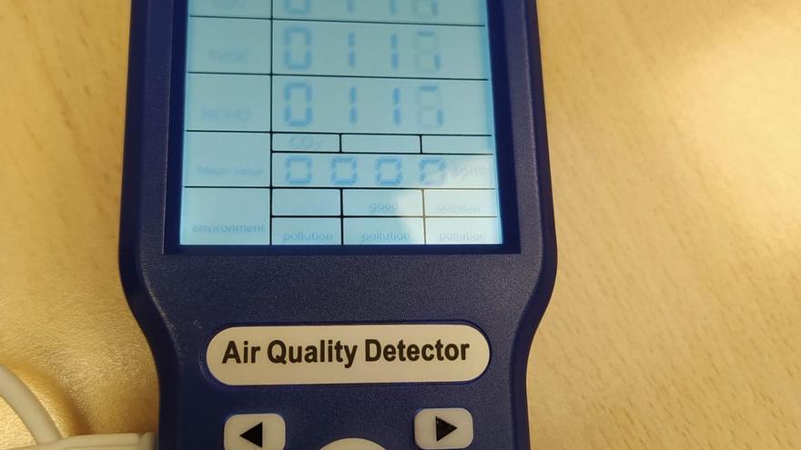 Ochenta medidores de la calidad del aire para reducir el riesgo de contagio en las aulas de Dénia