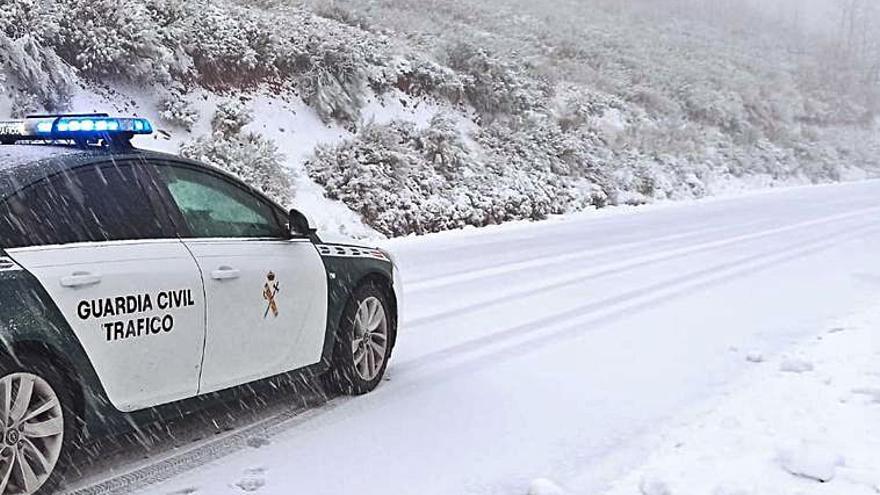 Galicia cambiará de año entre la nieve, la lluvia y el frío ártico
