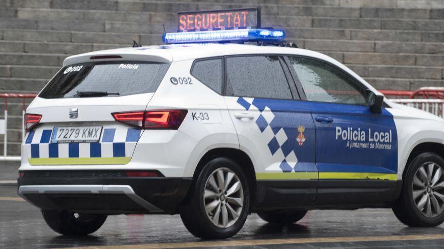 Enxampen in fraganti un jove de 20 anys quan estava robant a l'interior d'un cotxe a Manresa