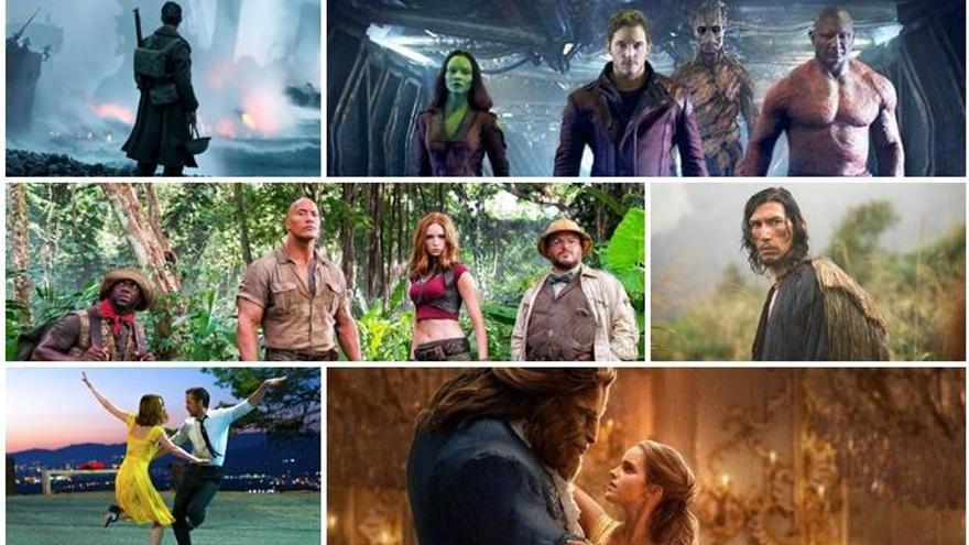 Nolan, Scorsese, Marvel o Pixar: el cinema que omplirà les sales el 2017