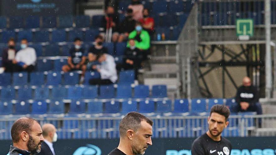 Carcedo: «La valoración del partido es que no hemos merecido la derrota»
