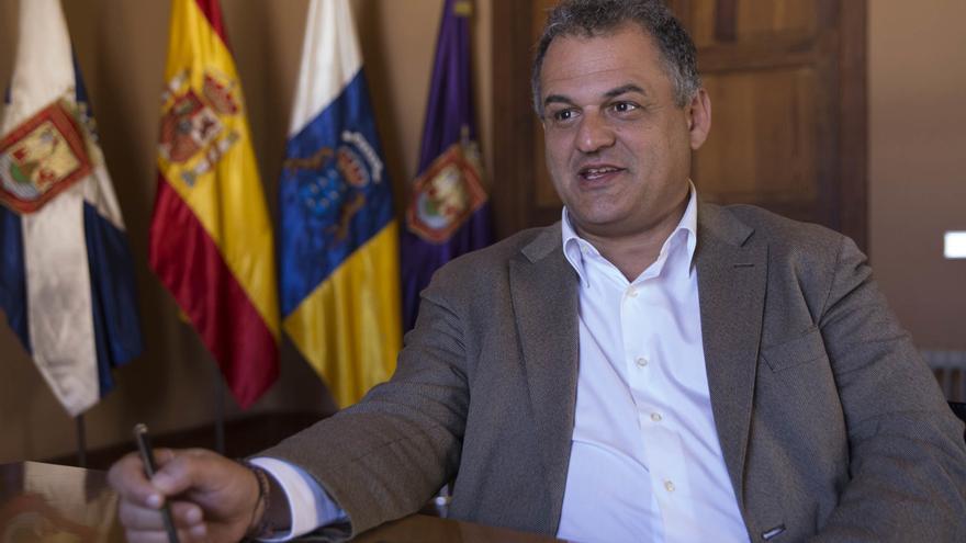 José Alberto Díaz presenta la renuncia al acta de concejal en La Laguna