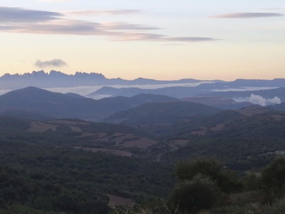 Albada des de Castelladral.