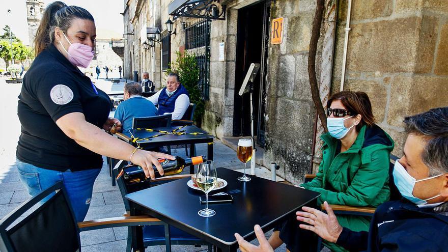 El 80% de la hostelería de Cambados elude abrir al permitirse solo el servicio en terraza
