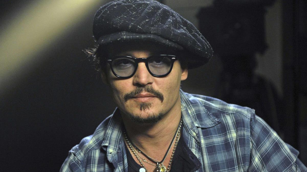 Una imagen del actor estadounidense Johnny Depp.