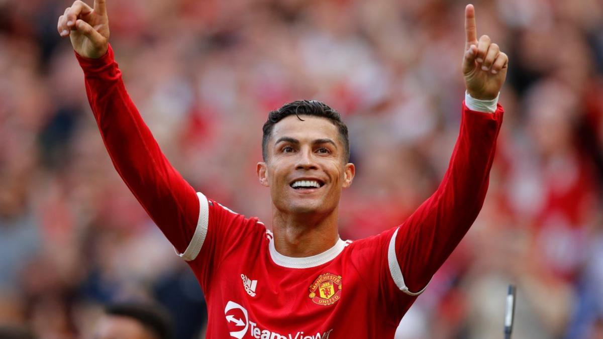 Cristiano Ronaldo volvió a marcar con la camiseta del Manchester United