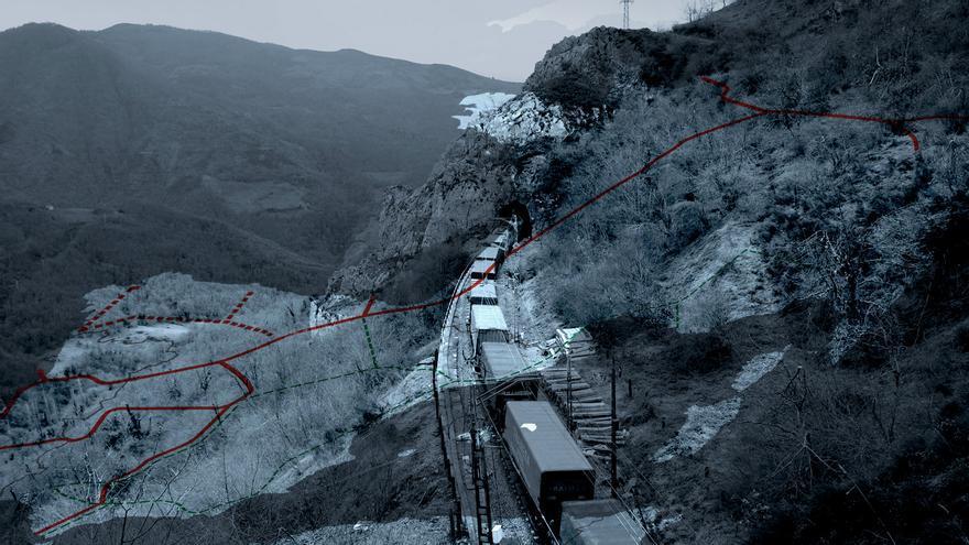 Solo el 1% del comercio exterior de Asturias usa el tren, a la espera del Corredor Noroeste