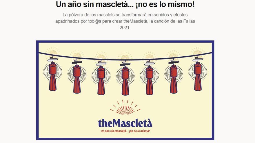 """Así funciona la campaña """"theMascletà"""" para ayudar a los sectores afectados por la suspensión de las Fallas"""