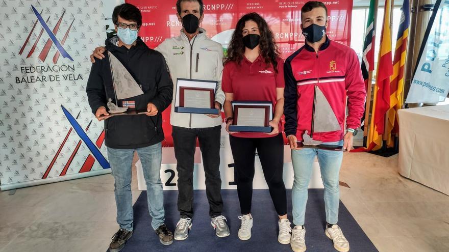 Ochenta regatistas se darán cita en Águilas en el Campeonato de España masculino