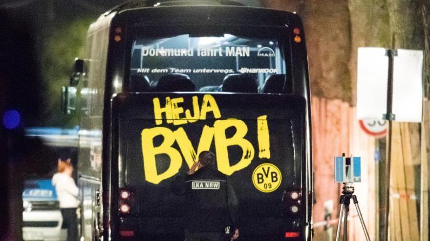 Condena a 14 años al autor del atentado contra autobús del Dortmund