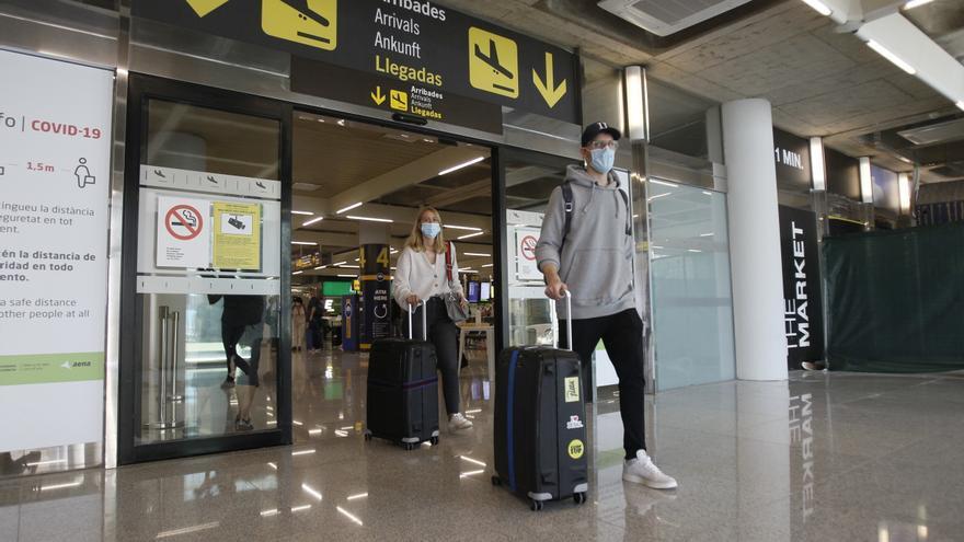 La llegada de turistas a Baleares se desploma un 87,4% hasta octubre por la pandemia