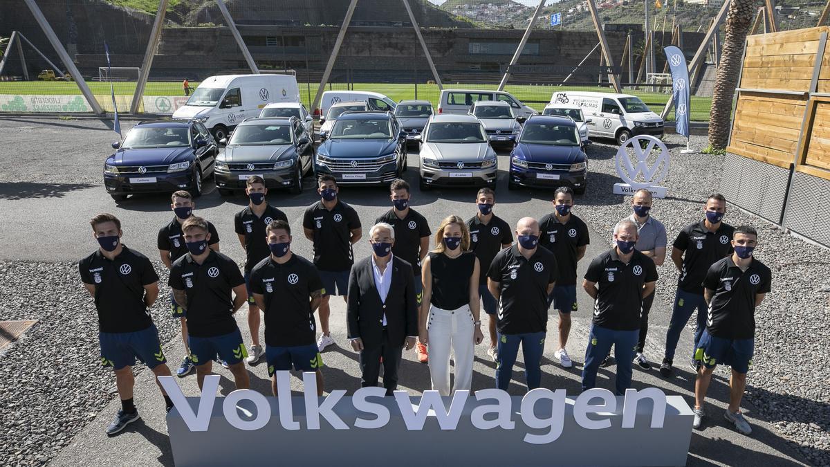 Volkswagen Canarias, siempre con la UD