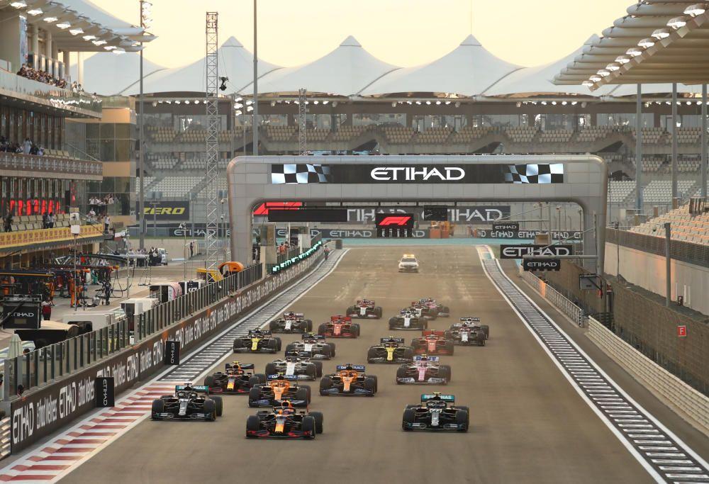 Fórmula 1: carrera del GP de Abu Dabi