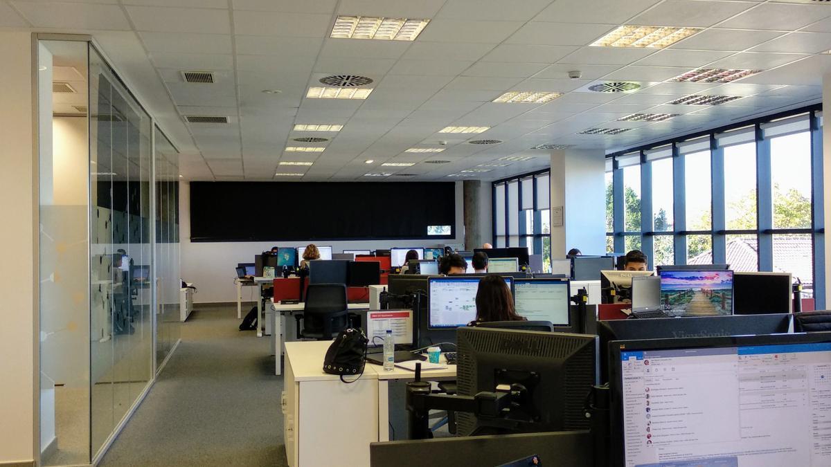 Zona de trabajo en las instalaciones de Chemours