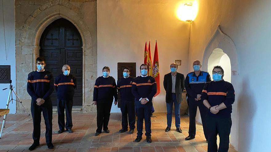Protección Civil de Toro destina una donación anónima de 450 euros a adquirir material