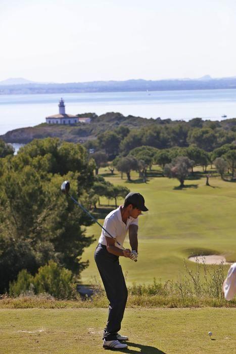 Das Wetter spielte beim Golftunier auch mit.