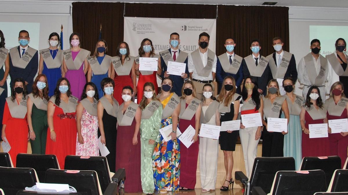 Graduación de la última promoción de la Escuela Universitaria de Enfermería Sagrado Corazón