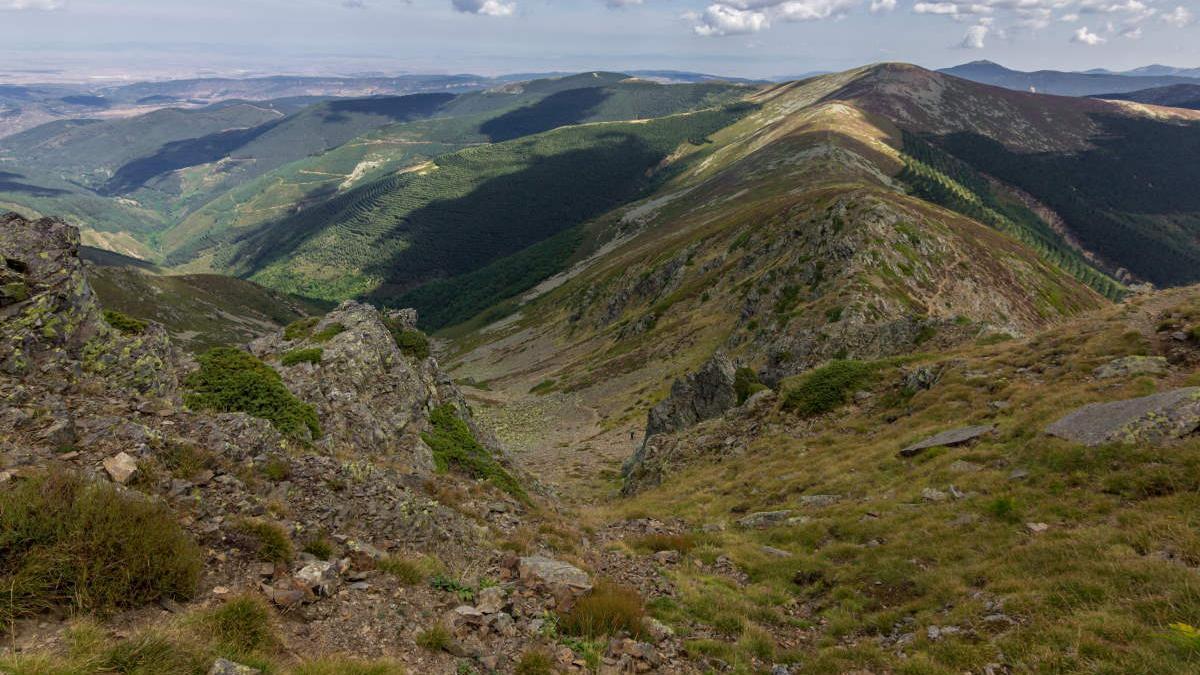 Pico San Millán en Burgos.