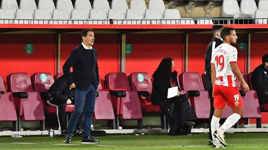 Luis García: «El golazo de Abdón simboliza el esfuerzo del equipo»