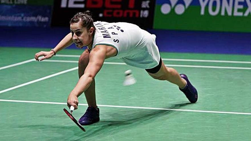 Carolina Marín se despide en semifinales del All England