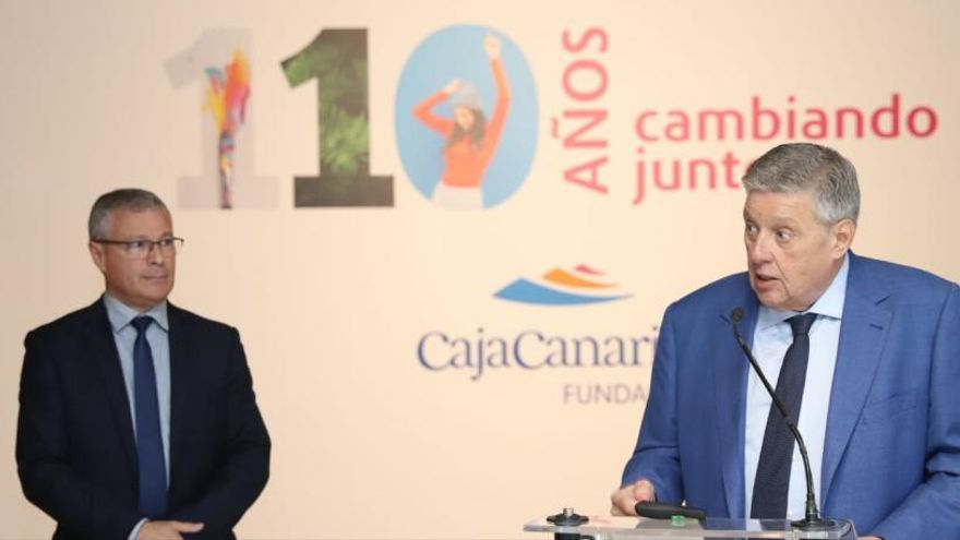 La Fundación CajaCanarias se pone a 110 con el deporte