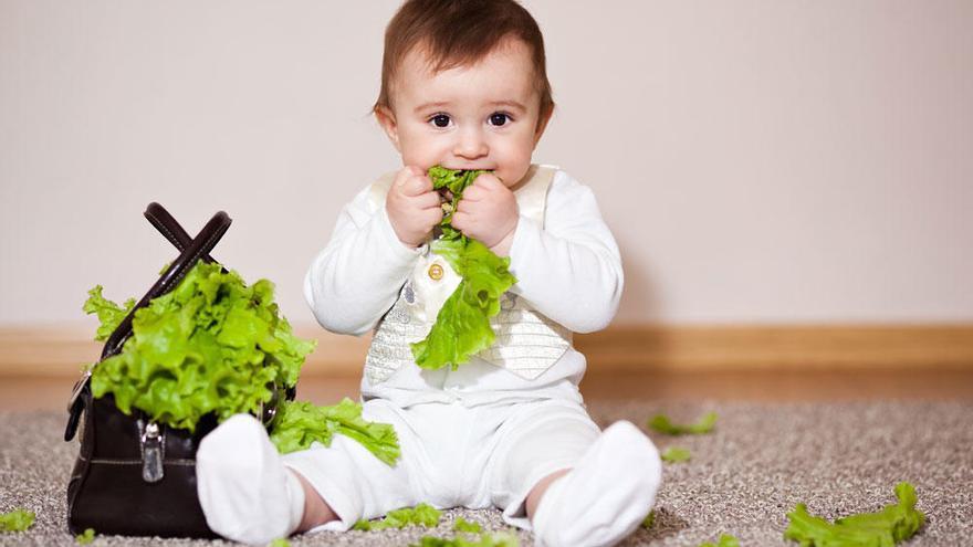 Bebés veganos: ¿Una dieta saludable para nuestros hijos?