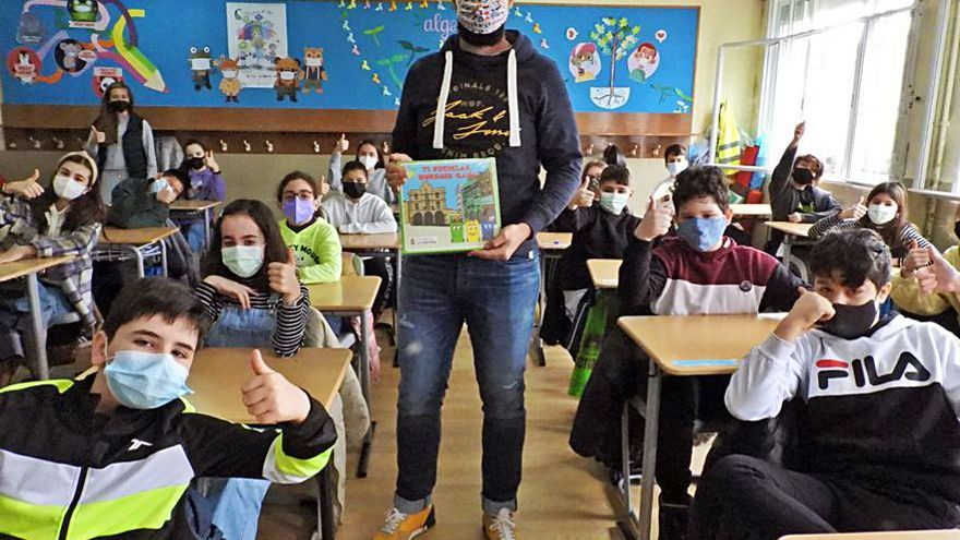 """Concienciar a las jóvenes sobre el medio ambiente: """"Se reciclas, Ourense gaña"""""""