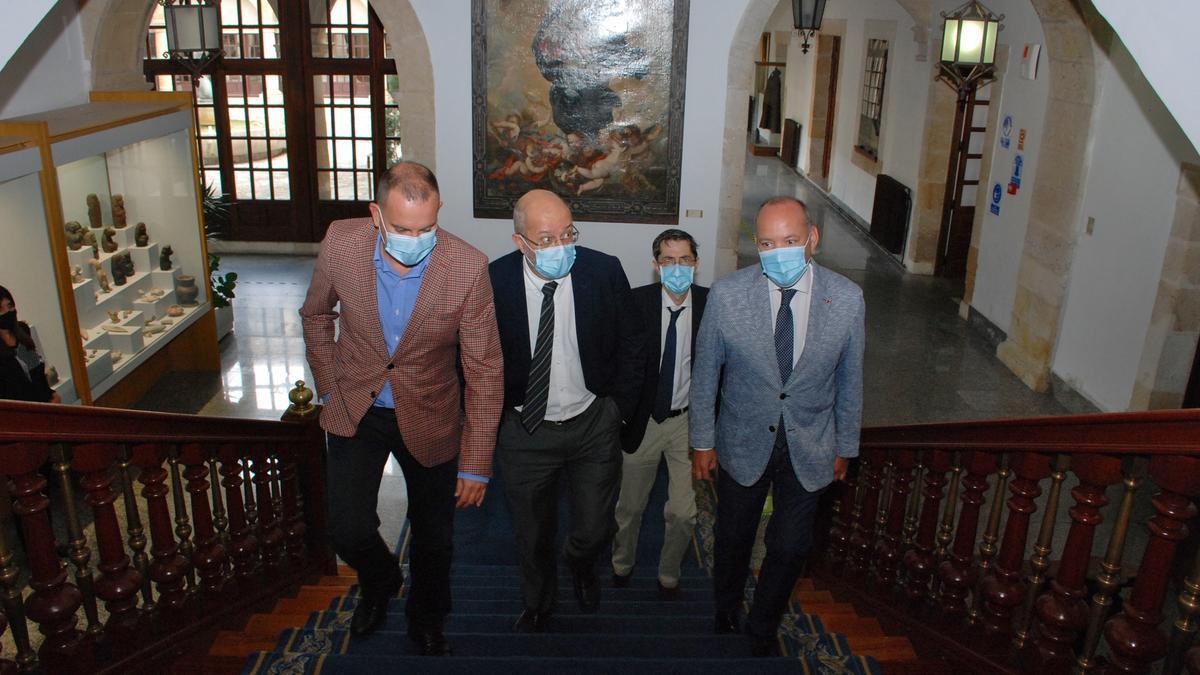 Igea, Requejo y Barrios, en la Diputación