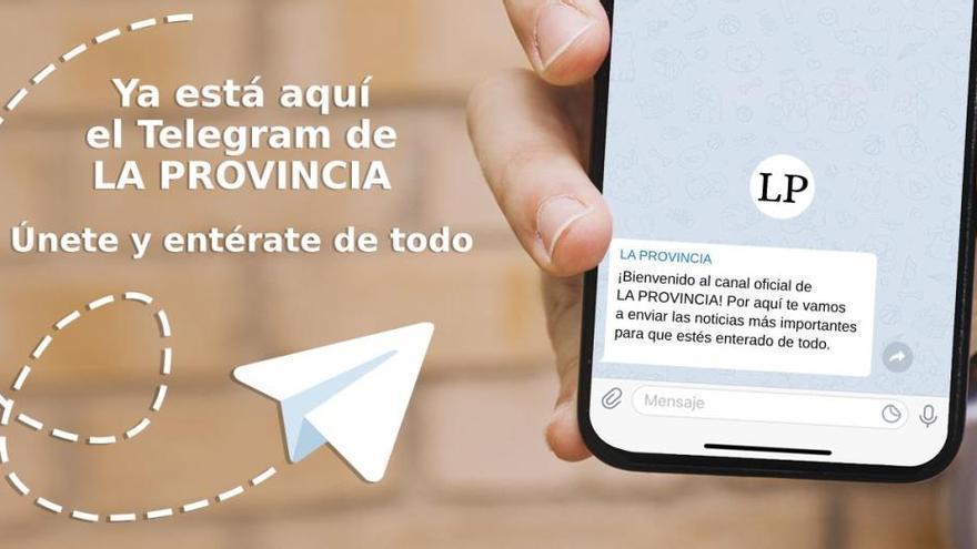 Únete al canal de Telegram de LA PROVINCIA y entérate de la última hora del volcán de La Palma