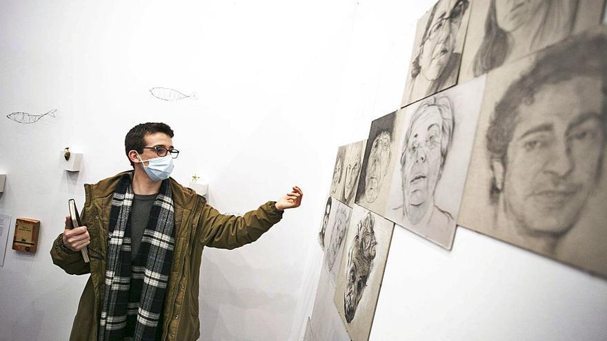 """Iván Cuervo: """"A través de los retratos estudio la psicología de las personas"""""""